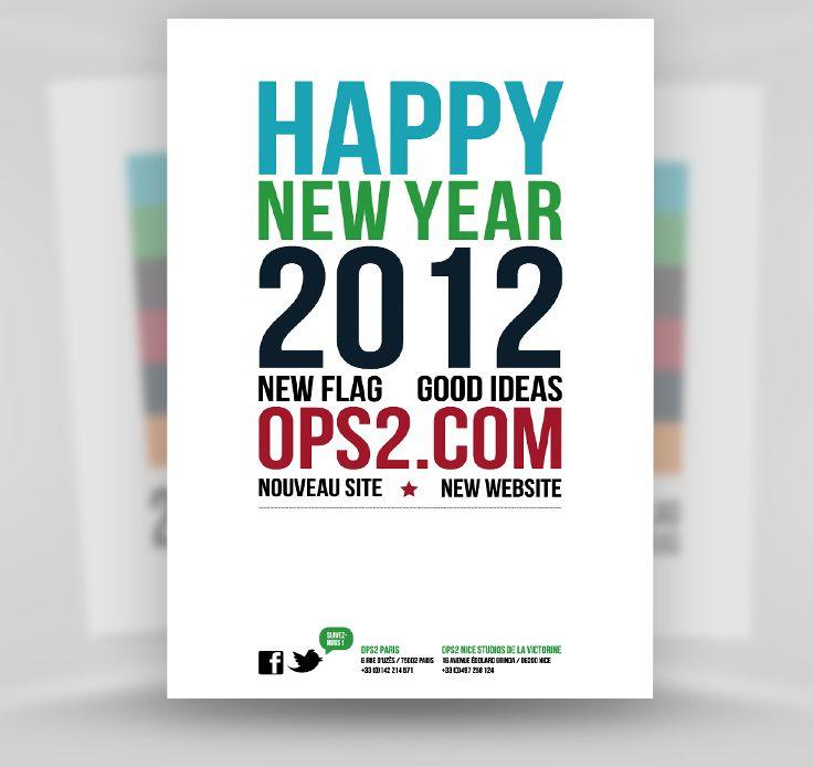 Carte de voeux 2012 #OPS2