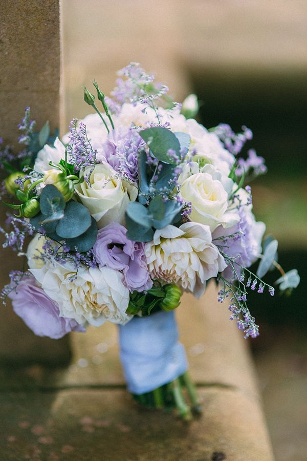 white and lavender coloured Amity Blooms bouquet - lisianthus, roses, hydrangea - weddings, bride, bouquet.  www.amityblooms.com www.facebook.com/amityblooms