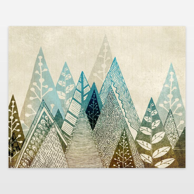 25 best ideas about mountain art on pinterest nature for Indie wall art ideas