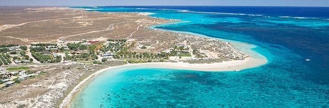 Coral Bay aerial, WA - always worth a visit ♥