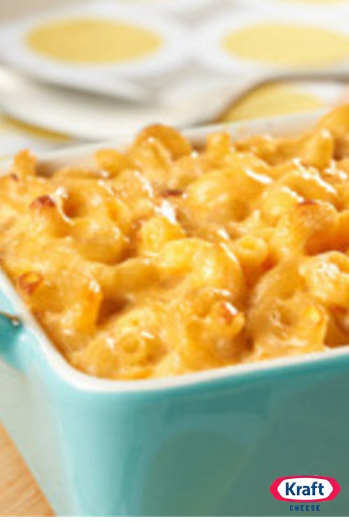 Easy Homemade Macaroni & Cheese - The easy, cheesy, noodle-y deliciousness of homemade mac 'n' cheese, made extra-special with red pepper, KRAFT Cheese and VELVEETA.
