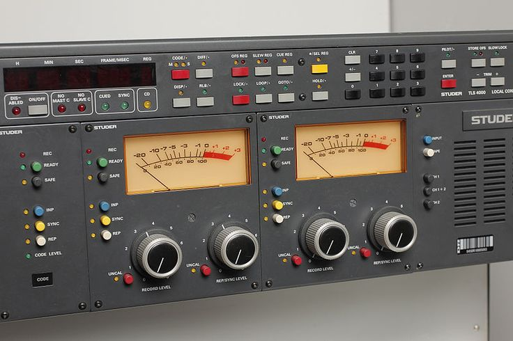 Studer tape recorder A810