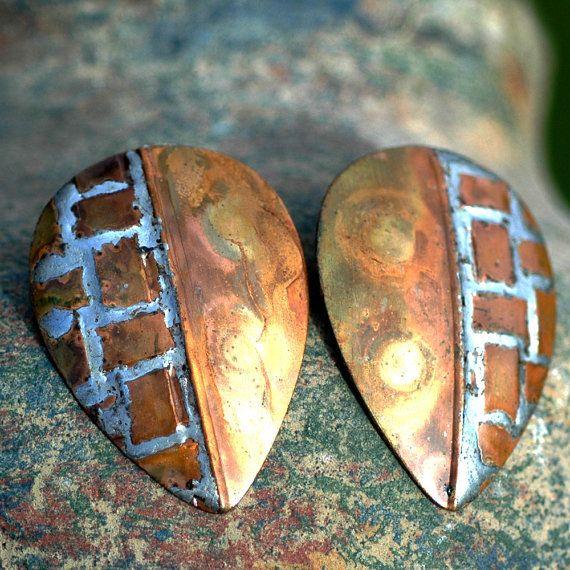 vintage or antique earrings old jewelry heirloom by CoolVintage