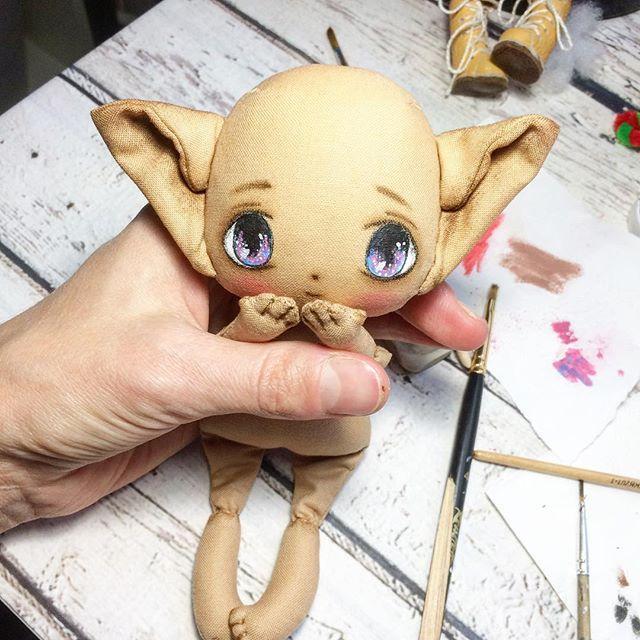 Мой глазастик шлет вам свои поцелуйчики #куклаолли #оллиэльф #кукла #куколка#куклакупить