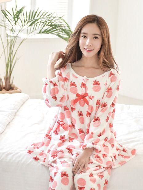 Banibella winter sleepwear / CANDY MINK ONEPIECE PJ / the best quality women pj /  Microfiber sleepwear