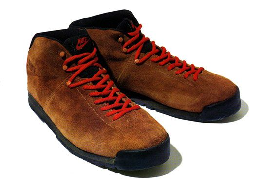 Womens Hiking Boots Red Laces