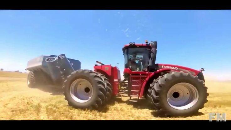 Wheat Harvesting in California, USA 2016. !FM!.