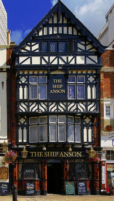 The Ship Anson Pub, Portsmouth, England