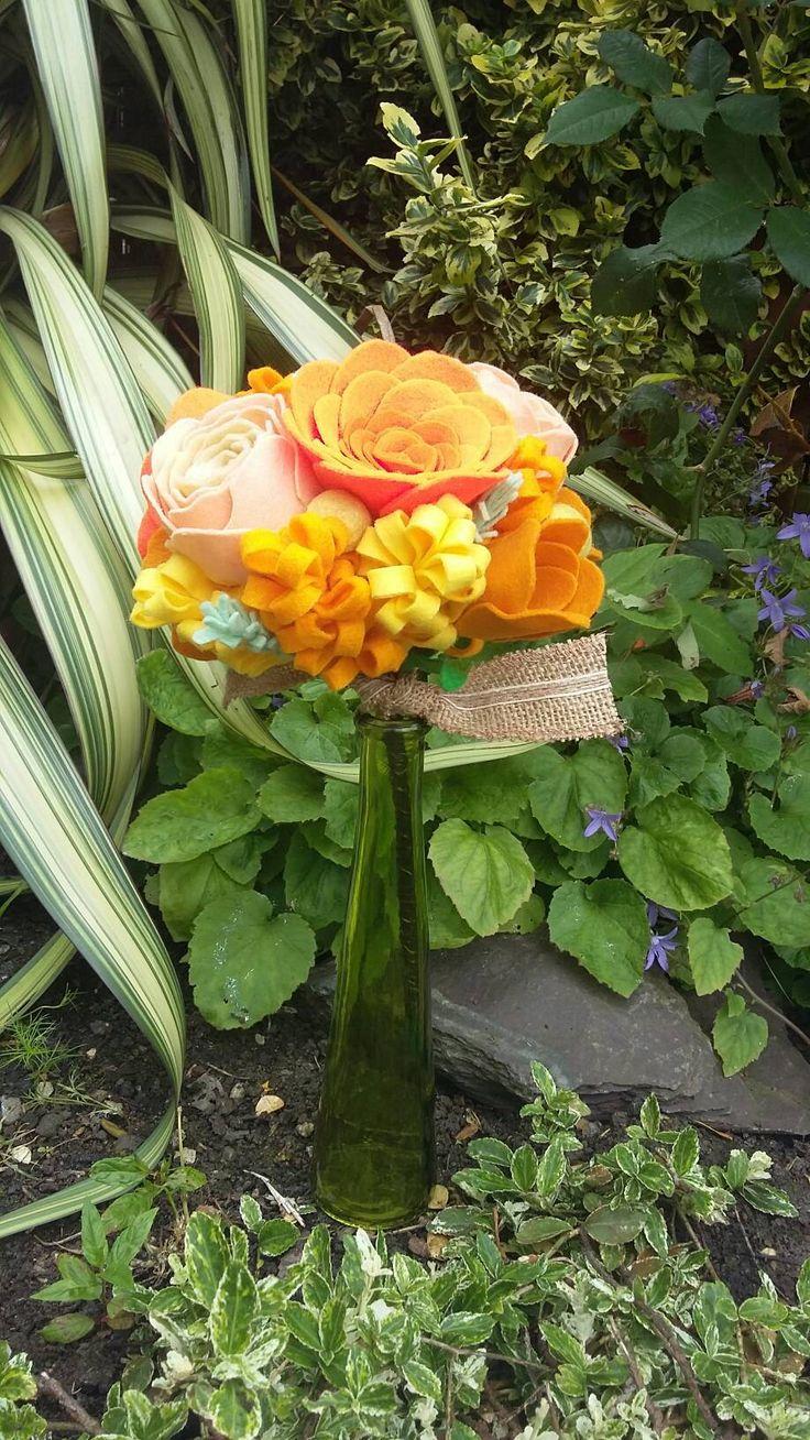Sunshine bouquet by ThinkSleepy on Etsy