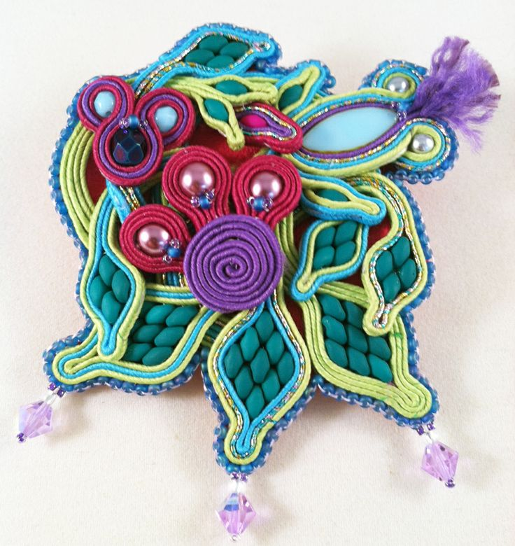 Pocket Full of Posies with Amee McNamara Saturday, May 17th 10:30am - 4:30pm  Tuition is $45.00 per student and there is an additional $35 materials fee for the soutache kits to be paid to the instructor the day of the class. Preregistration is required.