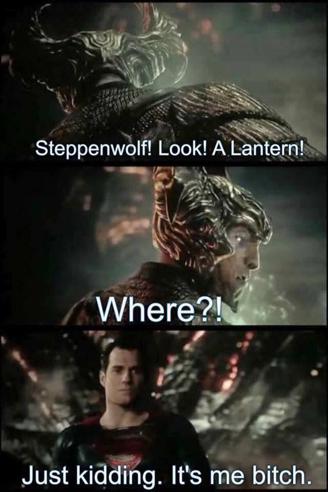lol #Justiceleague #Superman #Steppenwolf #Lantern #DCcomics #DC #MarvelAndDCUnited #Marvel&DCUnited Marvel & DC United