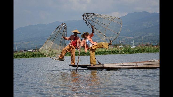 Pescadores do Lago Inle, Myanmar / Fishermen of Inle Lake, Myanmar