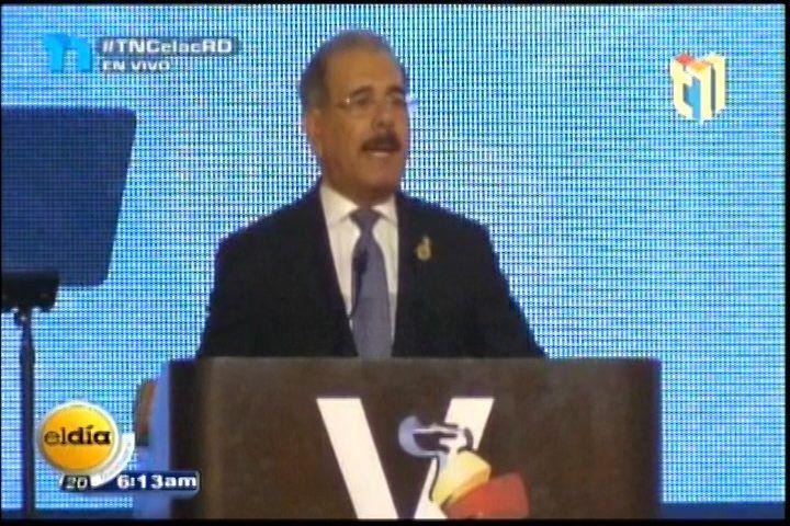 Danilo Medina Reprobó La Falta De Apoyo De Los Países Latinoamericanos A Los Jóvenes Emprendedores