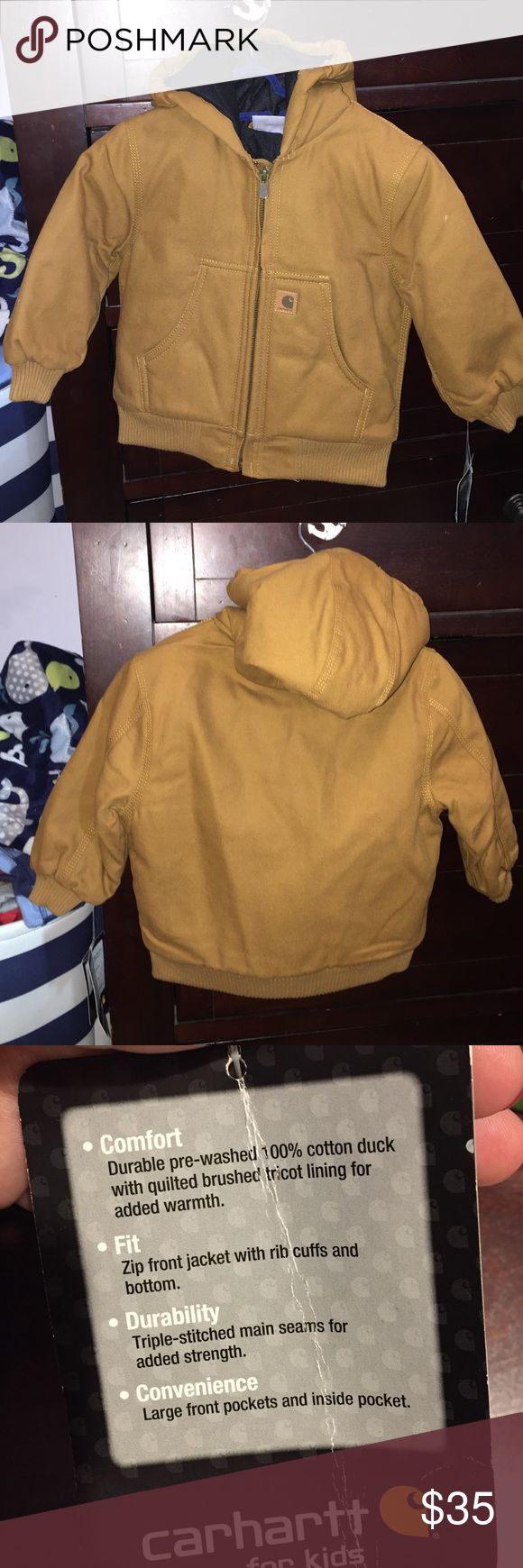 Kids Carhartt winter jacket!! NWT Never worn kids carhartt jacket! Size 24months Carhartt Jackets & Coats