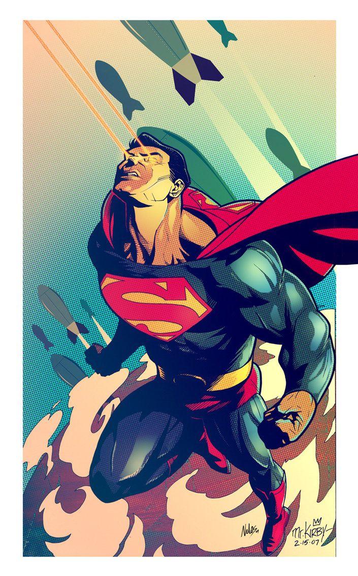 superman vintage by nelos on deviantart comics
