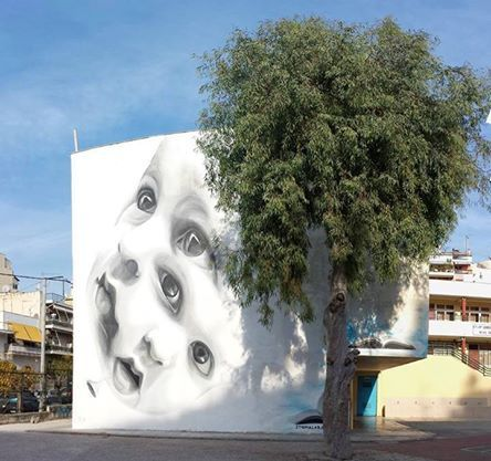Artist: INO (Greece) School at Nea Smyrni - Athens