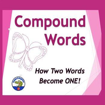 Compound Words PowerPoint by HappyEdugator | Teachers Pay Teachers