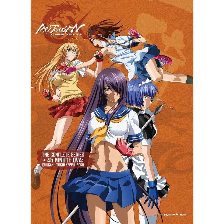 Ikki Tousen: Xtreme Xecutor - The Complete Series + OVA [3 Discs]