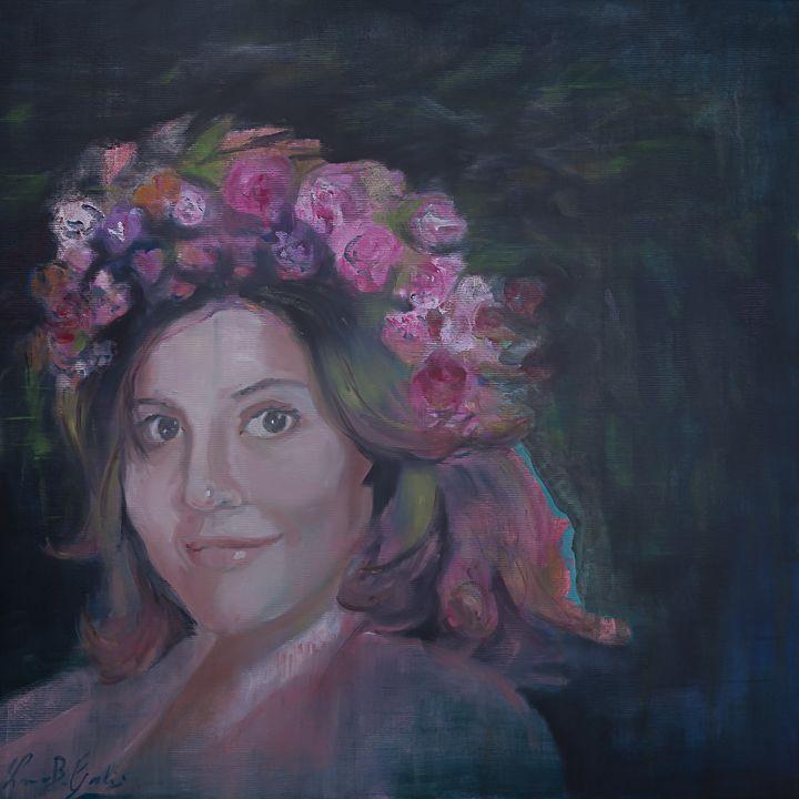 Roberta, oil on canvas