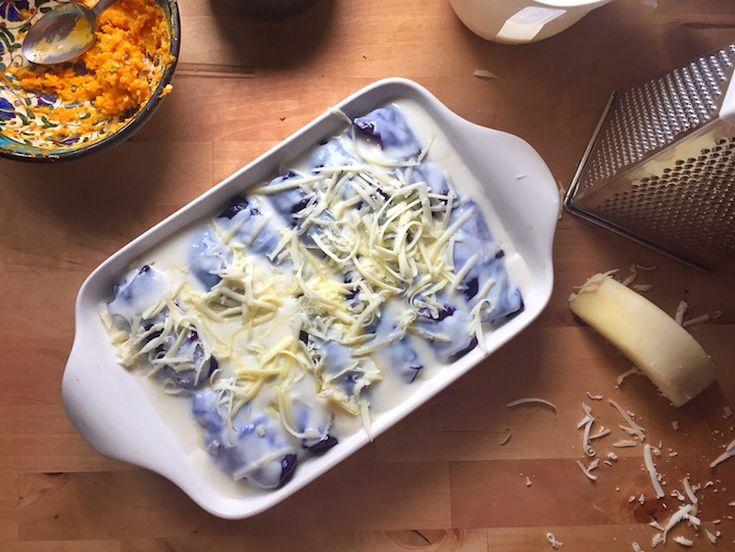 Gamze Mutfakta: Balkabağı & Lor Peynirli Mor Lahana Dolması