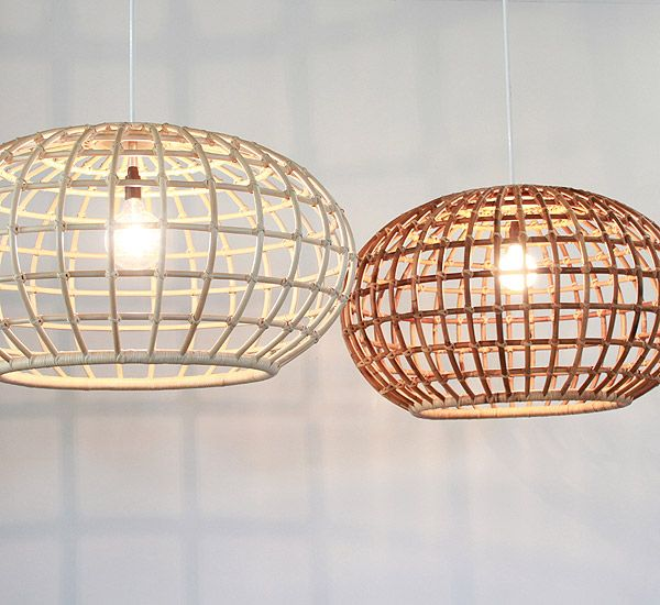 Created entirely from cane using a traditional handmade furniture technique, these beautiful feature pendant lamps are bold with an eye-catching shape and open structure. Ideal as a large feature lighting statements for our life next to the pacific ocean. The Bonita comes in 4 size. Large (1200mm dia), Medium (900mm dia), Small plus (700mm dia) …