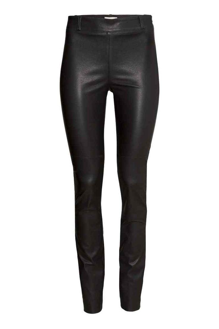 Skórzane spodnie | H&M