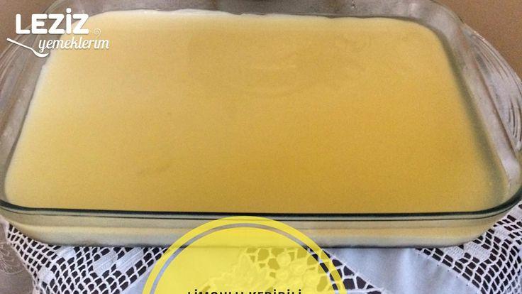 Limonlu Kedidili Tatlısı
