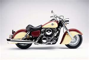 2001 Kawasaki Vulcan 1500 Drifter - 1940 Indian Chief lookalike. Also available in an 800 cc.