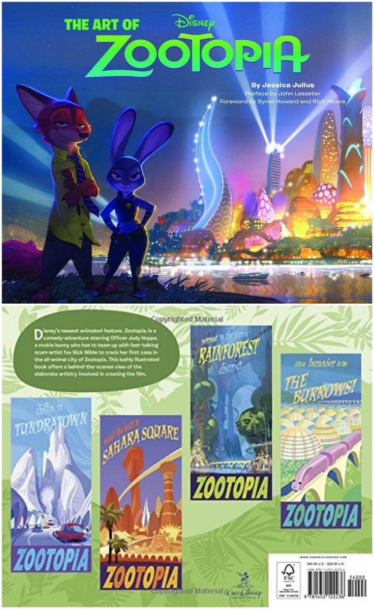 Disney's The Art of Zootopia book by Jessica Julius.