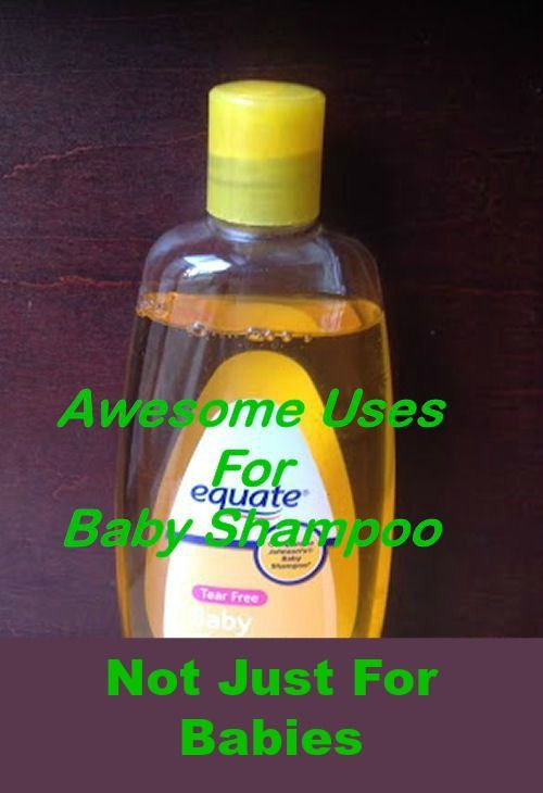 Not Just For Babies - 10 Uses For Baby Shampoo
