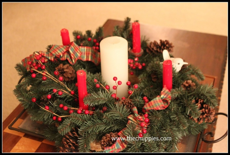 A very nice advent wreath, explanation of symbols, and Scripture readings for advent.