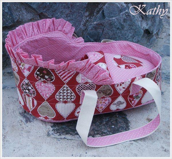 Dolls carrier (bag)  Přenosná taška na panenku a fusak :: Kathy