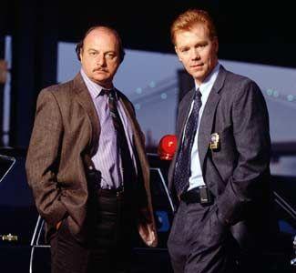 NYPD Blue - Dennis Franz and David Caruso .