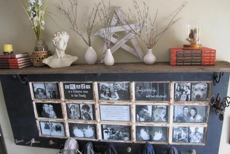 Repurposed Door Hallway Mantle, and Multiple Other Projects...