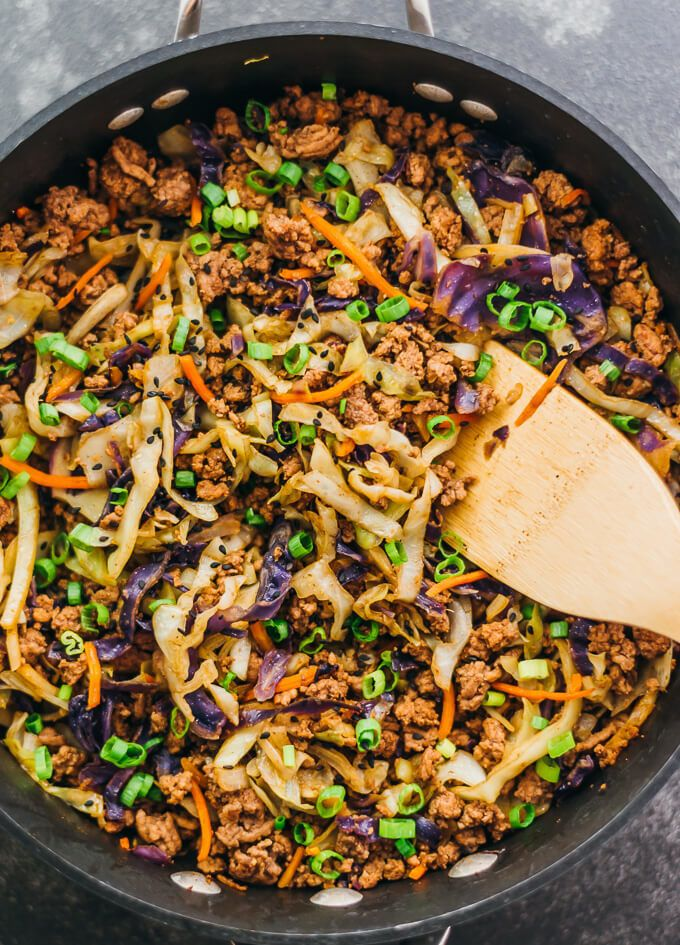 Ground Beef And Cabbage Stir Fry Ground Beef And Cabbage Cabbage Stir Fry Cabbage Recipes