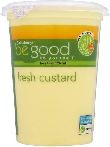 Sainsbury's Be Good to Yourself Custard (500g)
