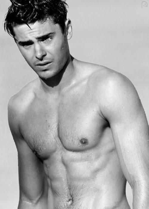 Shirtless Zac Efron
