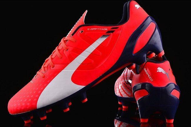 Buty piłkarskie Puma evoSpeed 1.3 FG #puma #football #soccer #sports #pilkanozna #futbol
