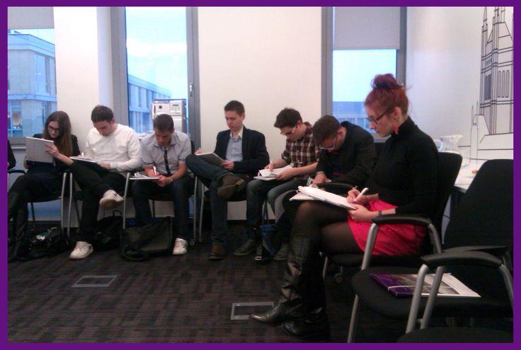 """Szkolenie Grant Thornton """"Sztuka negocjacji"""" dla PBDA Consulting z Uniwersytetu Ekonomicznego w Poznaniu."""