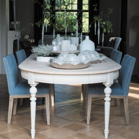 Best ideas about dining table and board on pinterest - Chaise blanc d ivoire ...