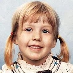 Christina Aguilera as a kid.