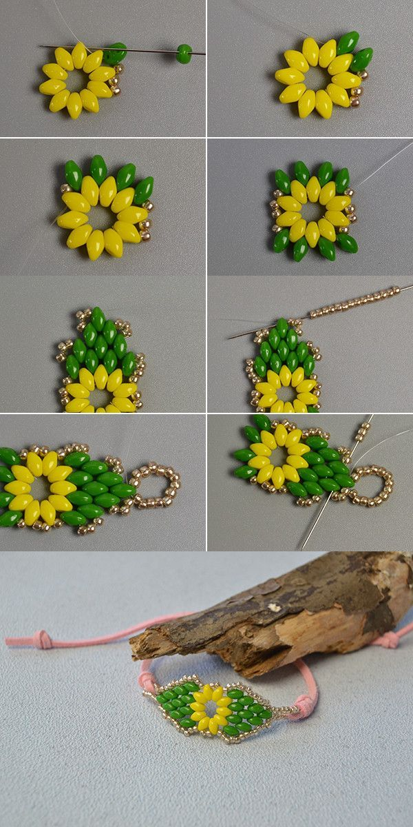 Like the 2-hole seed beads bracelet?The details will be published by LC.Pandahal