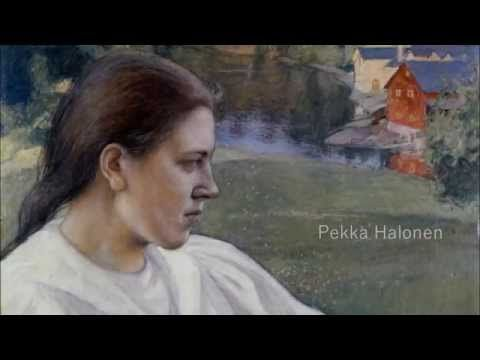 Pekka Halonen - Finnish Painter (1865 - 1933) suomalainen taidemaalari A... Pekka Halonen is one of the most beloved artists of the 'Golden Era' of Finnish art