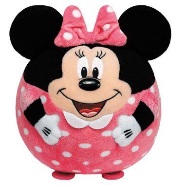 Ty Beanie Ballz knuffel Minnie Mouse - 125 cm  Is Minnie Mouse ook jouw favoriete Disney figuur? Nu kun je eindeloos knuffelen en rollen met deze mooie pluchen Ty Beanie Ballz Minnie Mouse knuffel!  EUR 2.98  Meer informatie