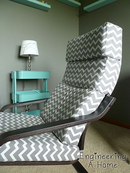 DIY Poang Chair Cushion And Cover