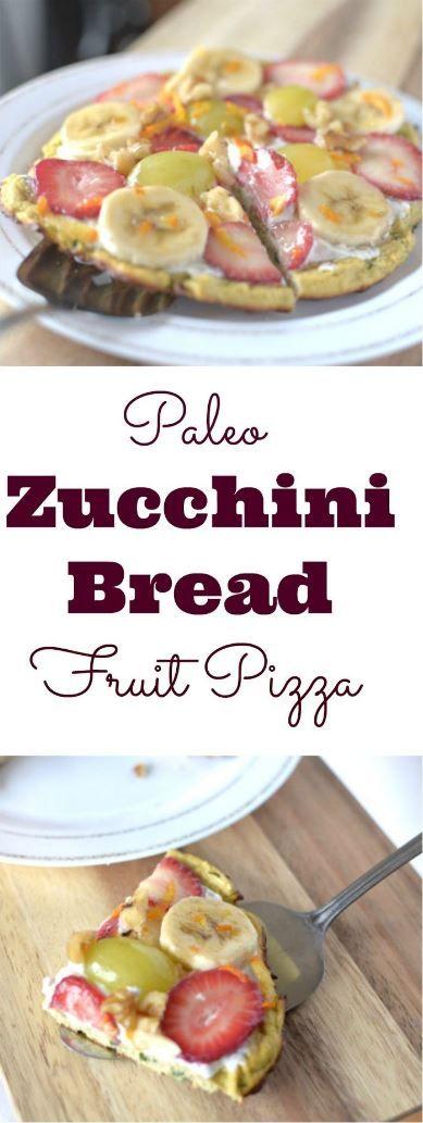 Perfect Zucchini Bread Pizza Breakfast Recipe
