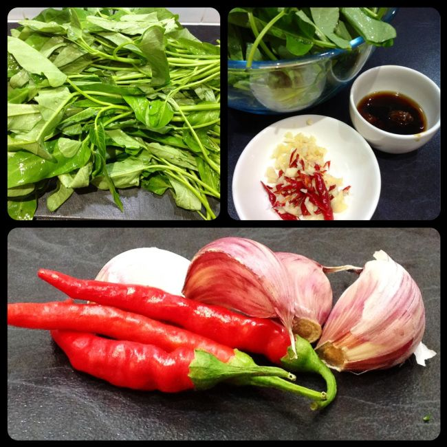 Now don't be put off by the name it is not as sinister as it sounds :-) ( or is that just my mischievous mind lol). Morning glory is water spinach or its Thai name Pak Boon Thai. I came acros…