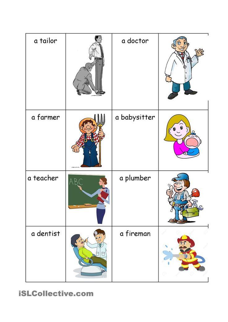 People work Aprender inglês, Atividades, Ingleses