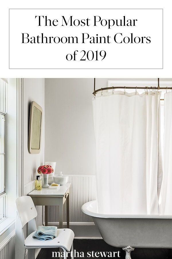 These Are The Most Popular Bathroom Paint Colors For 2019 Bathroom Paint Colors Best Bathroom Paint Colors Painting Bathroom