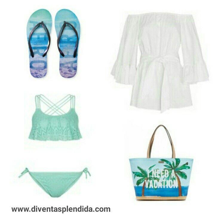 #outfit #estate   #ragazze   #spiaggia Segui 💖💖💖 www.diventasplendida.com 💖💖💖